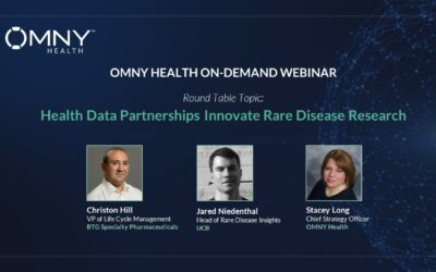 Register to View Health Data Partnerships Innovate Rare Disease Specialty Research – OMNY Health On-Demand Webinar