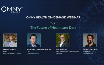 Register to Watch The Future of Healthcare Data – OMNY Health On-Demand Webinar