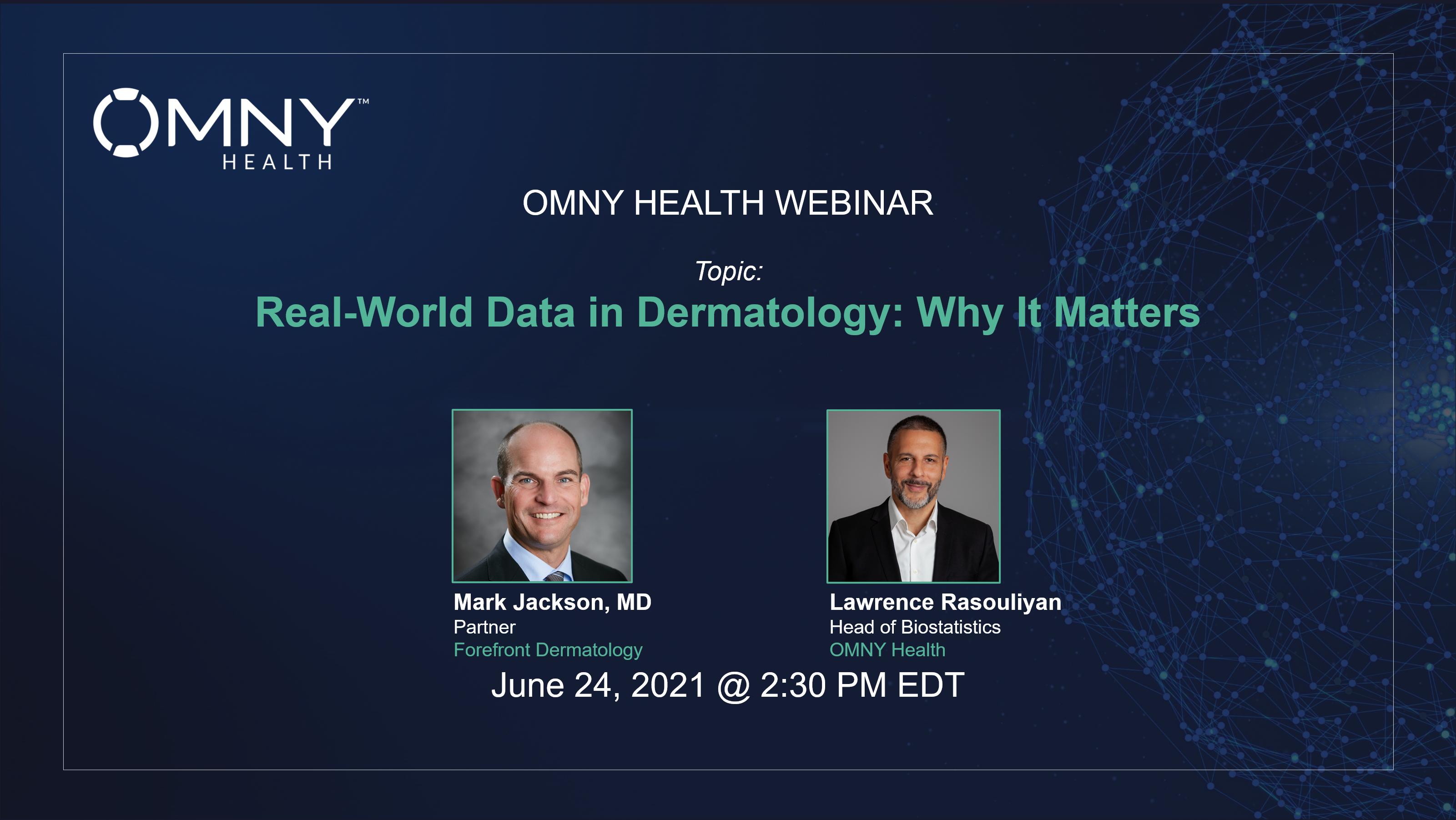 OMNY Health On-Demand Webinar: Health Data Partnerships Innovate Rare Disease Research